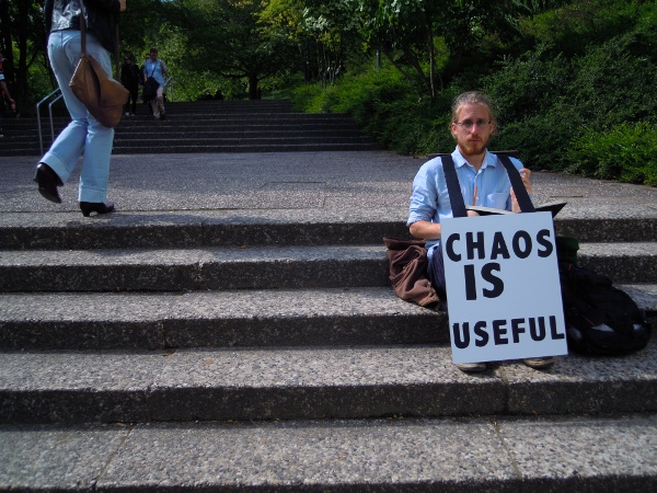 CHAOS IS USEFUL