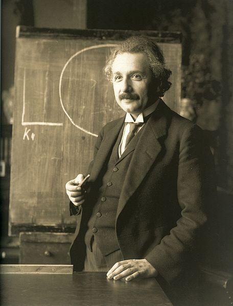 Albert Einstein. 1921