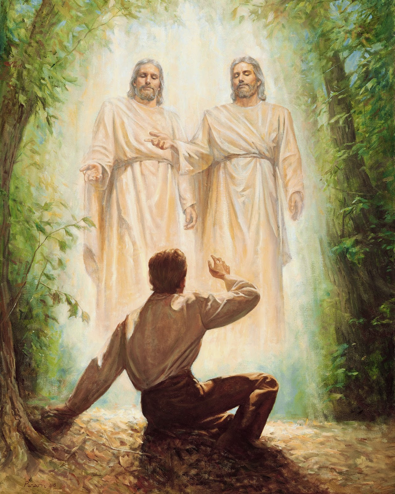 Heavenly Father and Jesus Christ, appearing to Joseph Smith