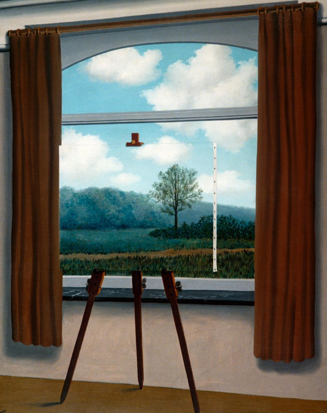 René Magritte, La condition humaine, 1933