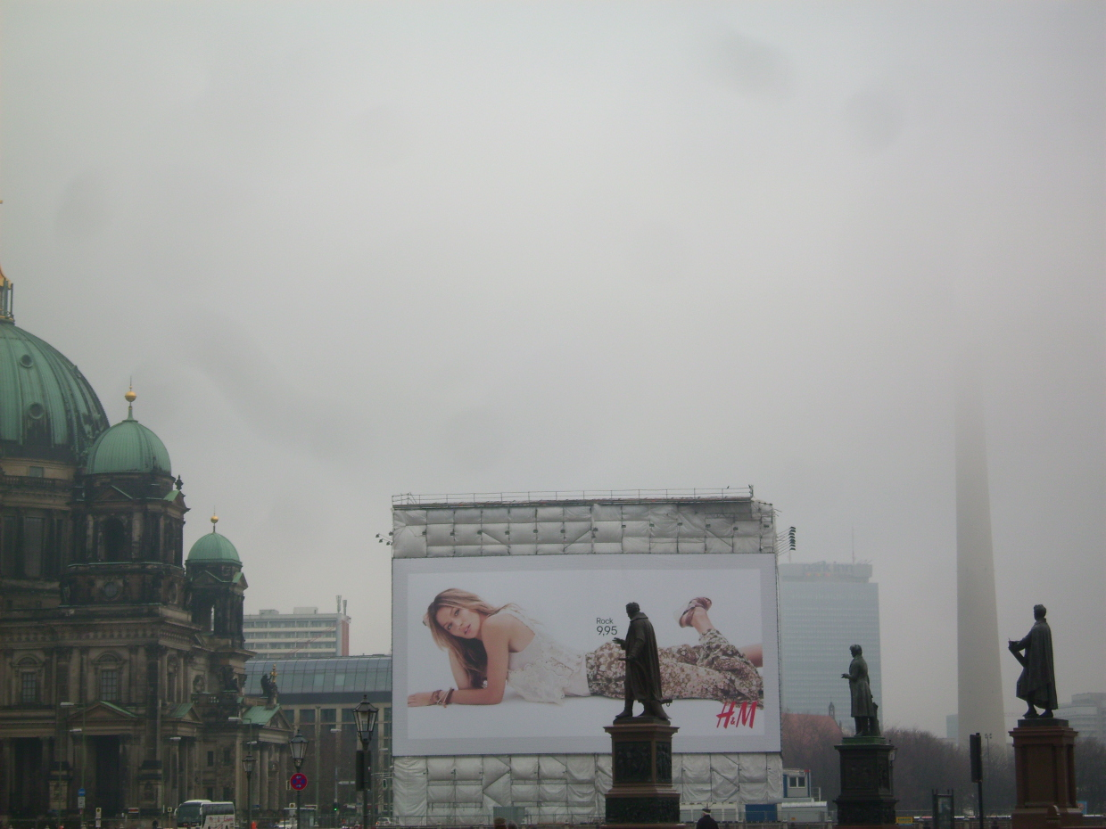 Berlin, a secular foggy day