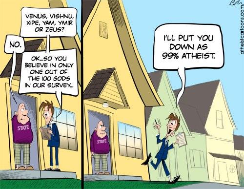 99percent atheist