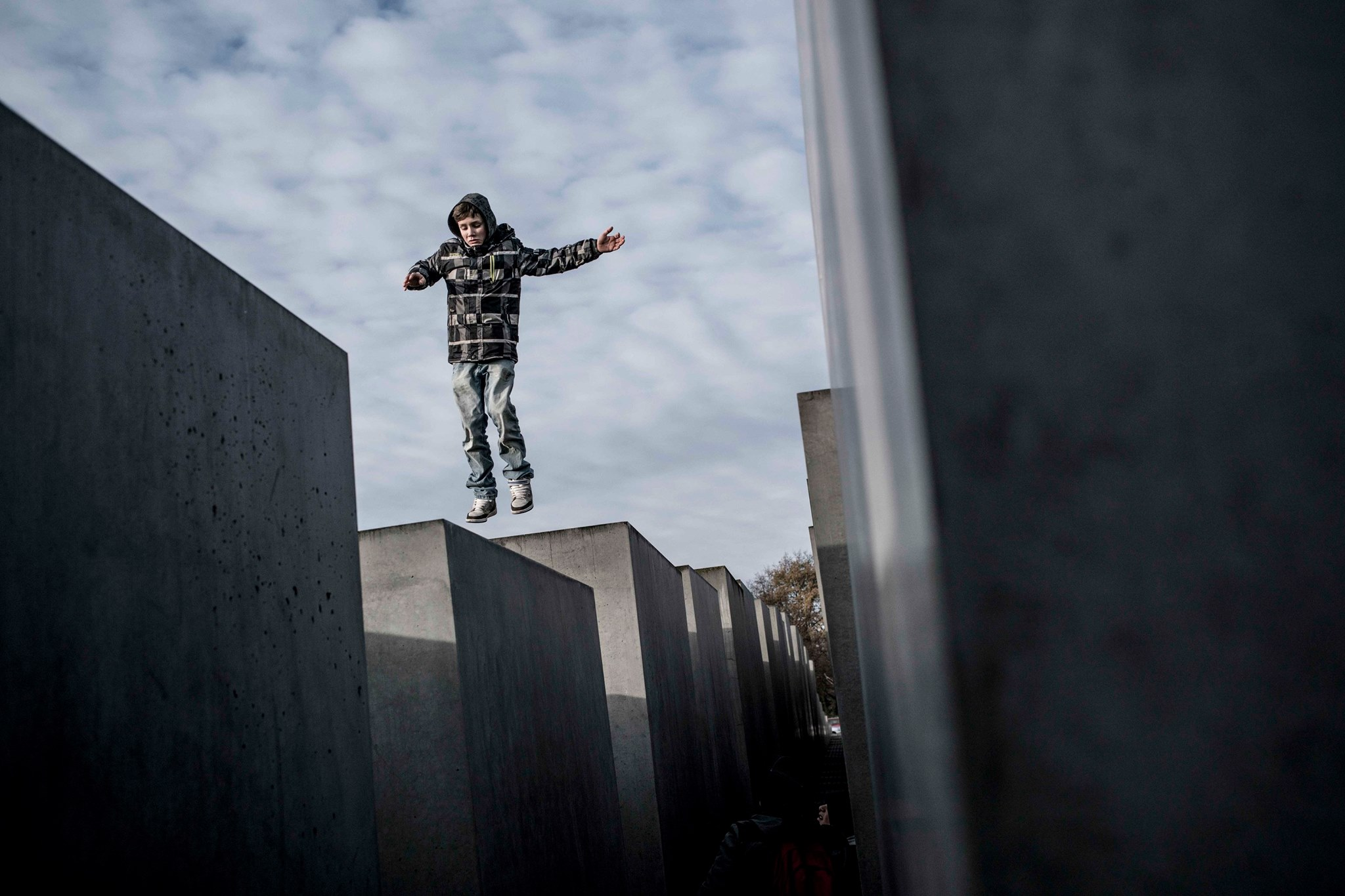 Mohammad Kheirkhah, Berlin, Holocaust Memorial 1