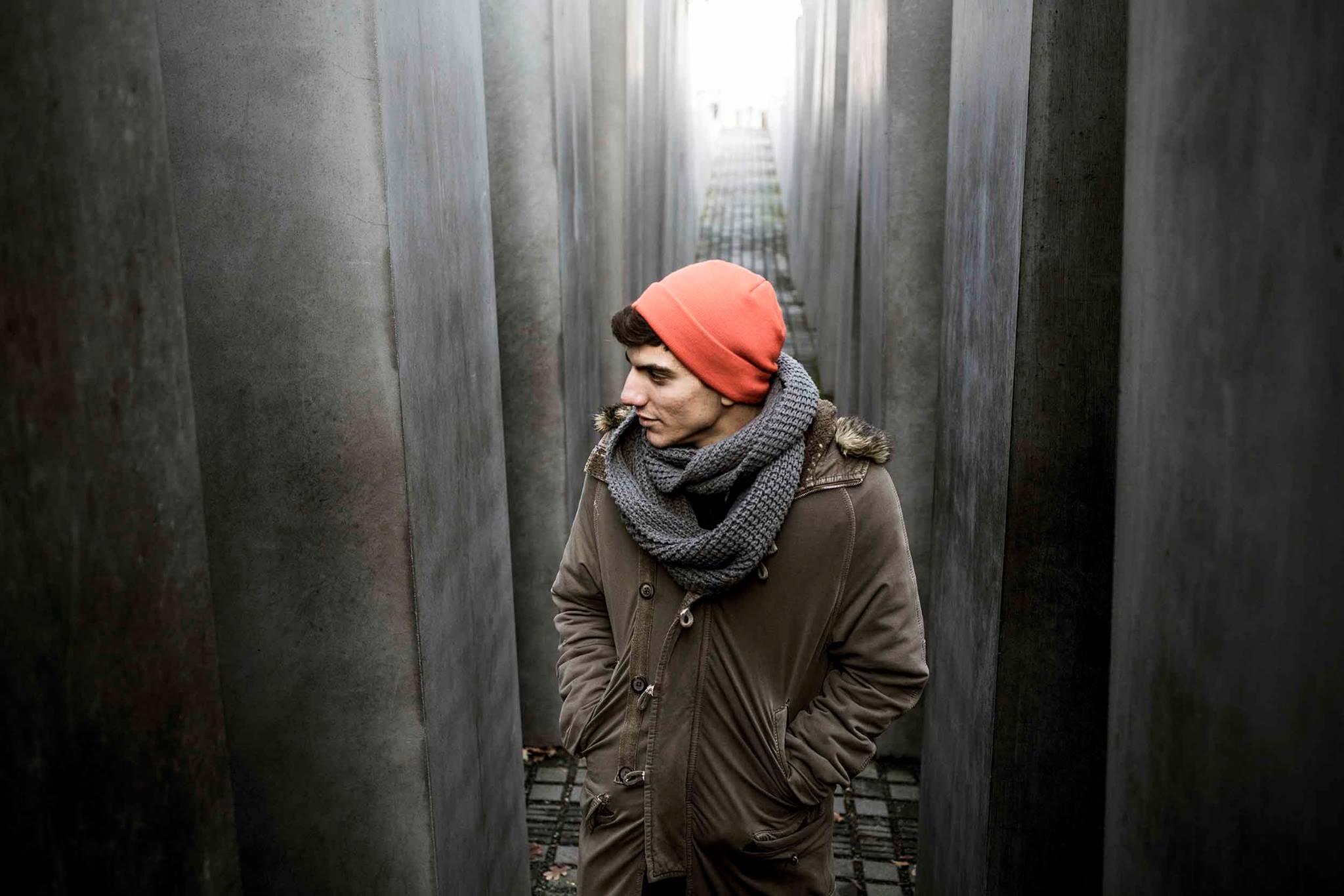 Mohammad Kheirkhah, Berlin, Holocaust Memorial 2