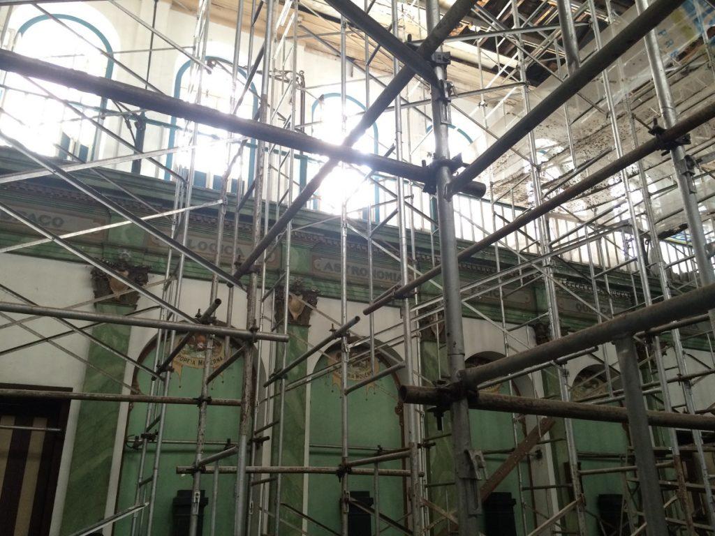 Scaffolds, Positivist Temple Rio de Janeiro (c) Paul Marret